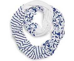 Sperry Top-Sider Whale Print Infinity Scarf