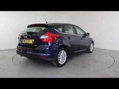 FORD FOCUS 1.0 125 ECOBOOST TITANIUM - Air Conditioning - Alloy Wheels - Bluetooth | In blue with 28000 miles on the clock. Click here to see the full ...