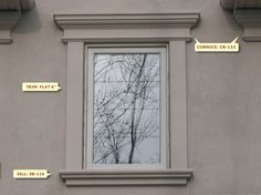 window design w 62 exterior windowsexterior paintwindow casingyard - Exterior Window Moulding Designs
