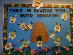 Our classroom bulletin board.