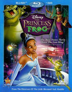 The Princess and the Frog Blu-ray