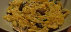 Δες εδώ μια πολύ καλή συνταγή για ΝΗΣΤΙΣΙΜΟ ΚΡΙΘΑΡΟΤΟ ΜΑΝΙΤΑΡΙΩΝ, μόνο από τη Nostimada.gr Side Dishes, Rice, Pasta, Health, Ethnic Recipes, Greek, Food, Recipes, Health Care