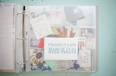 Include memorabilia in a pocket for #projectlife by @marcypenner