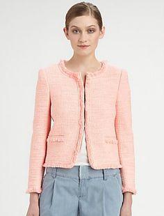 Alice + Olivia Kidman Box Jacket (XS + M)