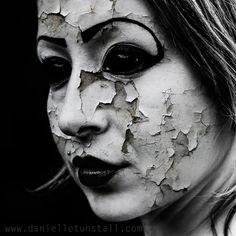 Danielle Tunstall photography: Model and makeup: Alice Bizzare