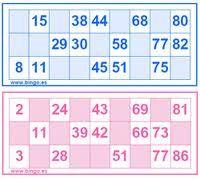 juego de loteria para niños de numeros - Buscar con Google Bingo, Periodic Table, Google, Manualidades, Periotic Table