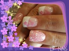 Cherry blossom by LRnails - Nail Art Gallery nailartgallery.nailsmag.com by Nails Magazine www.nailsmag.com #nailart