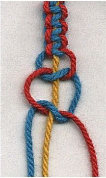diy nautical rope bracelet with anchor tutorial, nautical braided rope bracelet diy