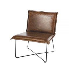 Een mooie stoel, zoals deze Lewis stoel van Riverdale, geeft je woonkamer gelijk een stoere impuls.