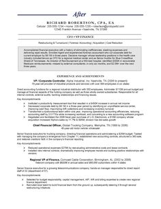 Chief Financial Officer Sample Resume Adorable Resume  Senior Accounting Executive  Professional Resume .