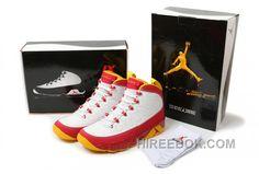 finest selection 18c27 cd9ea Air Jordan 9 Retro White Mustard Yellow Red Livraison Gratuite, Price    79.00 - Reebok Shoes,Reebok Classic,Reebok Mens Shoes