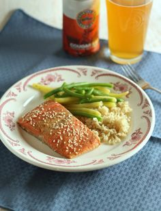 Sous Vide Salmon with Miso Marinade - Solid Gold Eats