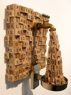 { iamcarisu } | BLOG | Ron Ulicny'Alphabet Spew