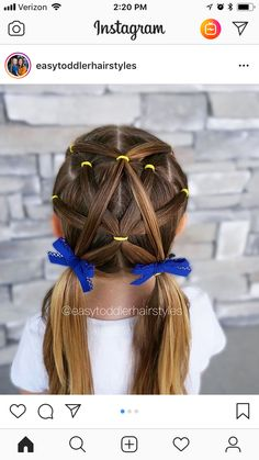 Princess Hairstyles, Little Girl Hairstyles, Cute Hairstyles, Girl Hair Dos, Kid Hair, Elsa Hair, Hair Fixing, Hair Color For Women, Toddler Hair
