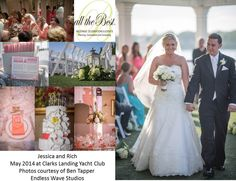 JESSICA & RICH They LOVE the Jersey Shore and had a beautiful wedding at Clarks Landing Yacht Club. Photos courtesy of Ben Tapper of Endless Wave Studios. 'Cause down the Shore everything's alright! Everything's Alright, Wave Studio, Everything Will Be Alright, Yacht Club, Dream Team, Celebrity Weddings, Clarks, Landing, Real Weddings