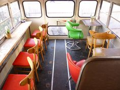 Food Shark dining car (school bus) 16 by foodshark, via Flickr