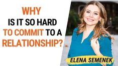 Commitment in a relationship. Why can't I commit to a relationship? Online Psychologist, Family Psychology, Commitment Issues, Relationship Coach, Love Tips, Feelings And Emotions, Self Awareness, Inspirational Videos, Self Development