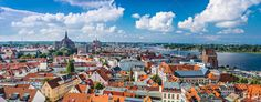 Realistic Graphic DOWNLOAD (.ai, .psd) :: http://jquery.re/pinterest-itmid-1006744772i.html ... Rostock, Germany ...  Central Europe, Mecklenburg, Mecklenburg-Vorpommern, architecture, baltics, buildings, city, europe, european, german, germany, landmark, panorama, panoramic, rooftop, rostock, skyline, town, view, village, warnow river  ... Realistic Photo Graphic Print Obejct Business Web Elements Illustration Design Templates ... DOWNLOAD…