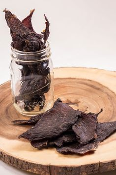 Looking for Fast & Easy Beef Recipes, Snack Recipes! Recipechart has over free recipes for you to browse. Find more recipes like Beef Jerky. Jerky Recipes, Meat Recipes, Snack Recipes, Cooking Recipes, Snacks, Free Recipes, Traeger Recipes, Smoker Recipes, Beef Jerkey