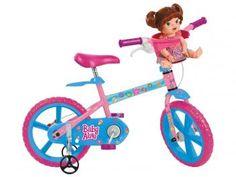 Bicicleta Infantil Bandeirante Baby Alive Aro 14 - Freio Tambor