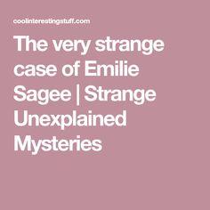 The very strange case of Emilie Sagee | Strange Unexplained Mysteries