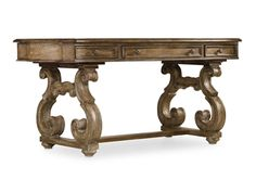 """This Hooker piece is luminous and fresh, """"Solana"""" is a refined rustic, opulent yet casual collection that celebrates the look of natural wood bathed in sunshine. - find it at LA Waters in Statesboro GA"""