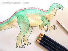 Piquer des dinosaures @ Le Petit Manuel