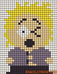 Tweek Tweak South Park pattern by Chrifed Yushiko