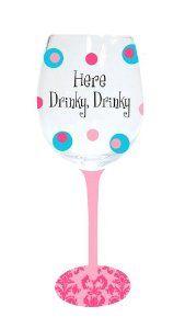 my funny wine glass...