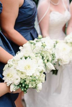 Green, White and Navy Wedding Upper Montclair Country Club Wedding in Clifton, NJ by Michelle Lange Photography