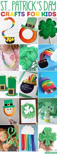 St. Patrick's Day Crafts for Kids | Chickabug