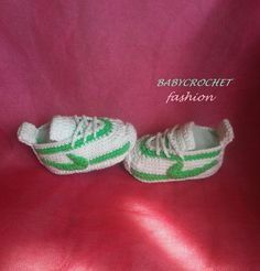 Baby shoes Baby knitted booties fashionable by BABYCROCHETfashion