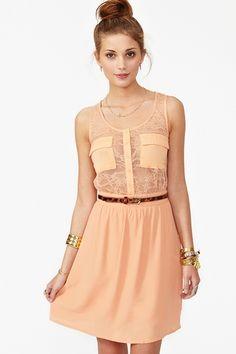 Sheer Up Dress