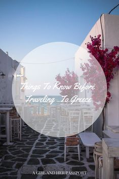 Things to Know Before Traveling to Greece | A Girl and Her Passport Greece is wonderful but it has some things you should know about before you go there. #greece #visitgreece #tips #travel #europetravel #greecetravel