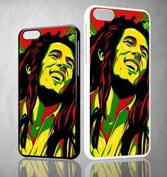 Bob Marley Y1422 iPhone 4S 5S 5C 6 6Plus, iPod 4 5, LG G2 G3 Nexus 4 5, Sony Z2 Case