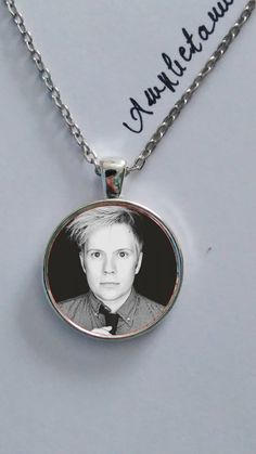 Fall Out Boy Patrick Stump necklace glass pendant