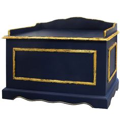 Nautical Toy Chest #toys #nautical #playroom #fun #boys