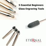 5 Essential Beginners Glass Engraving Tools - Article listing the 5 pieces of… Dremel Bits, Dremel Rotary Tool, Engraving Tools, Glass Engraving, Mosaic Glass, Glass Art, Dremel Projects, Diy Projects, Dremel Carving