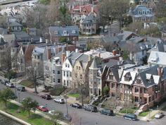 Historic Ghent neighborhood in Norfolk, VA