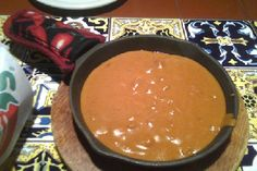 Chilis Queso - in chip and dip warmer for party