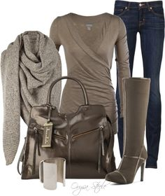 """Wrapped in Warmth"" by orysa on Polyvore by LauraV"