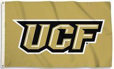 University of Central Florida UCF Logo Flag, 3x5