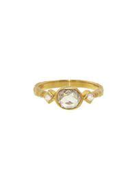 Cathy Waterman- Grey Diamond Ring