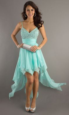 Prom Dresses 2016 by Dmsdress. Shop a classy prom dress for and online formal dresses, short or long homecoming dresses for other special occasions. High Low Cocktail Dress, Green Cocktail Dress, Cocktail Dresses, High Low Prom Dresses, Homecoming Dresses, Dress Prom, Sweetheart Prom Dress, Graduation Dresses, Prom Gowns