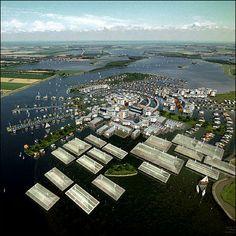 Floating Green Houses, Netherlands