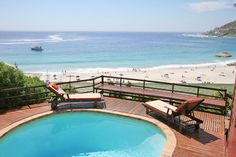 The Ridge - Holiday Rental In Clifton Cape Town Accommodation, Shower Over Bath, Beach Bungalows, Double Beds, Mountain View, Sea, Outdoor Decor, Full Beds