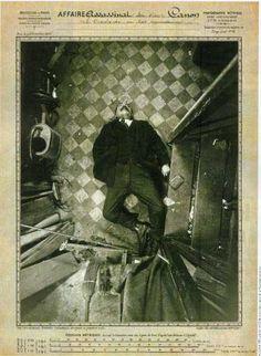 Assassinat du Sieur Canon, le 9 décembre 1914, Boulevard de Clichy.