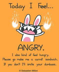 Angry bunny ;)