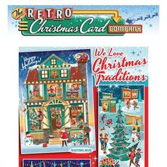 The Retro Christmas Card Company has many cards that pay tribute to the traditions of Christmas. Visit to see more than 50 Retro and Vintage Style Christmas Cards. Retro Christmas Cards | Vintage Christmas Cards