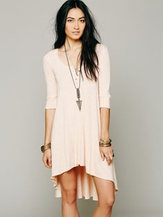 Free People Drippy Jersey Dress, $78.00